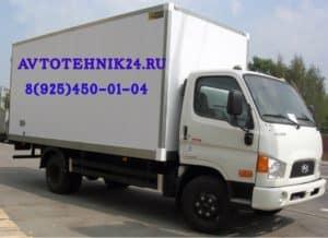 Диагностика и ремонт электрики грузовиков Хендай на выезде