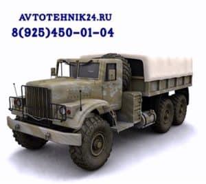 Диагностика и ремонт электрики грузовиков КраЗ на выезде