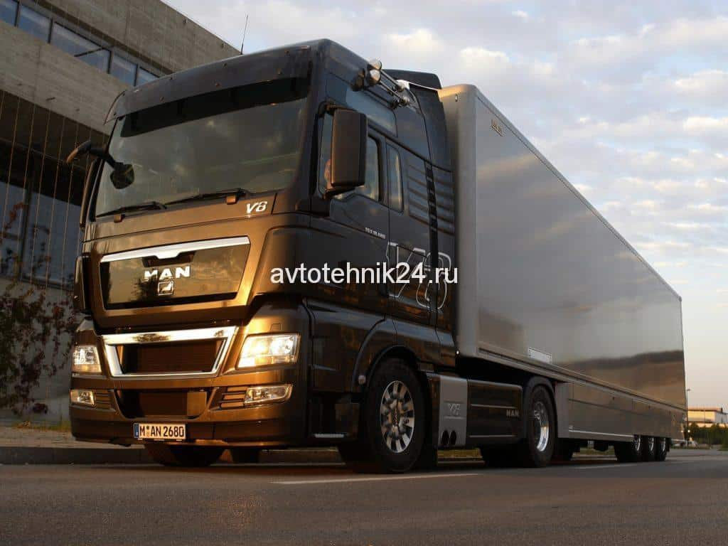 Диагностика и ремонт электрики грузовиков Ман.