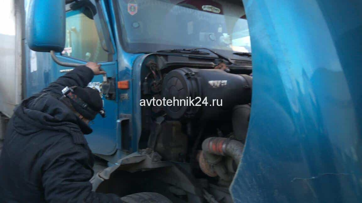 Диагностика и ремонт электрики грузовиков Вольво на выезде