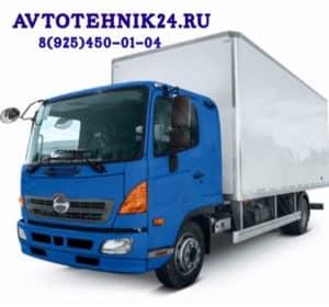 Диагностика и ремонт электрики грузовиков Хино на выезде