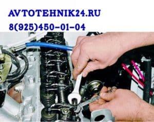Регулировка клапанов двигателя грузовика