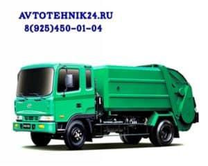 Диагностика и ремонт электрики мусоровоза на выезде