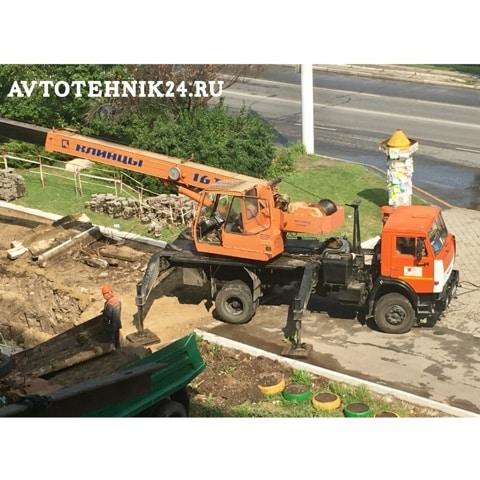 Ремонт автокрана Клинцы на выезде в Москве и области