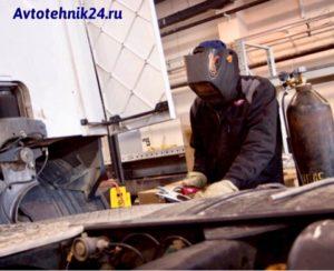 Выезд автосварщика по Москве и области