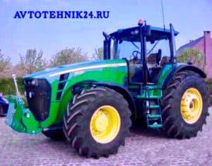 Ремонт тракторов John Deere на выезде в Москве