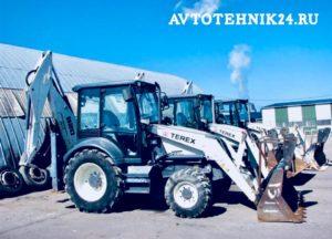 Ремонт тракторов Terex на выезде в Москве