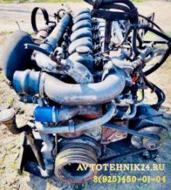 Ремонт двигателя МАН на выезде в Москве