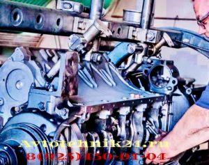 Ремонт двигателя автобуса на выезде в Москве
