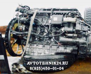 Ремонт двигателя Скания на выезде в Москве
