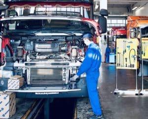 Ремонт грузовиков с выездом в Кубинке