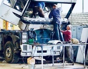 Ремонт грузовиков с выездом в Мытищи