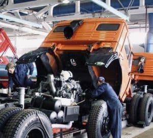 Ремонт грузовиков с выездом в Шереметьево