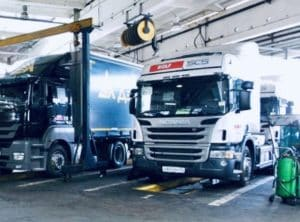 Ремонт грузовиков с выездом в Балашихе