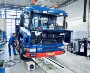 Ремонт грузовиков с выездом в Чехов